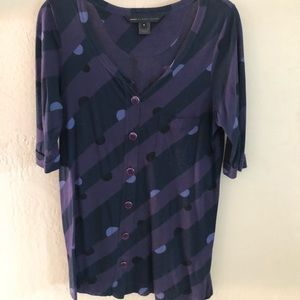 Marc by Marc Jacobs button down knit top